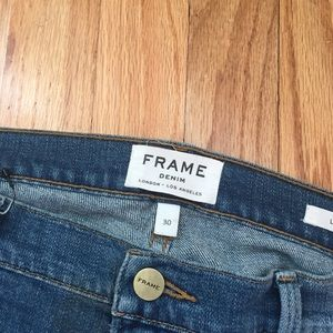 Frame jeans la Garçon 30 Waist